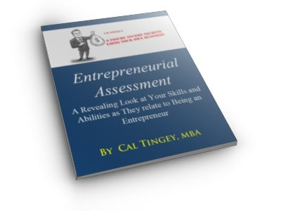 Entrepreneurial Assessment Booklet
